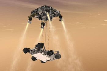 The Skycrane: How NASA's Perseverance Rover Will Land on the Red Planet