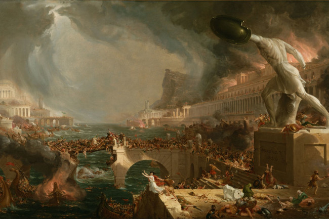 Fall of Rome, Thomas Cole painting - Wikimedia Commons