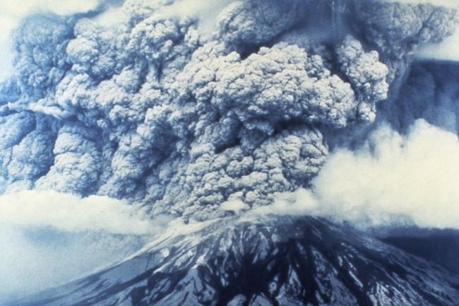 Mount St. Helens Erupting - Granger NYC