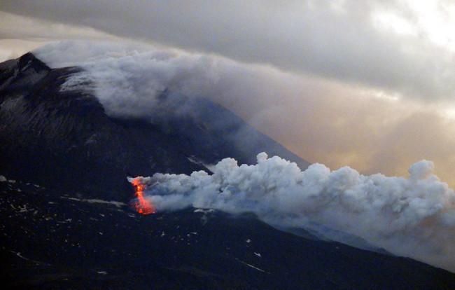 Etna Eruption May 2019 - Boris Behncke