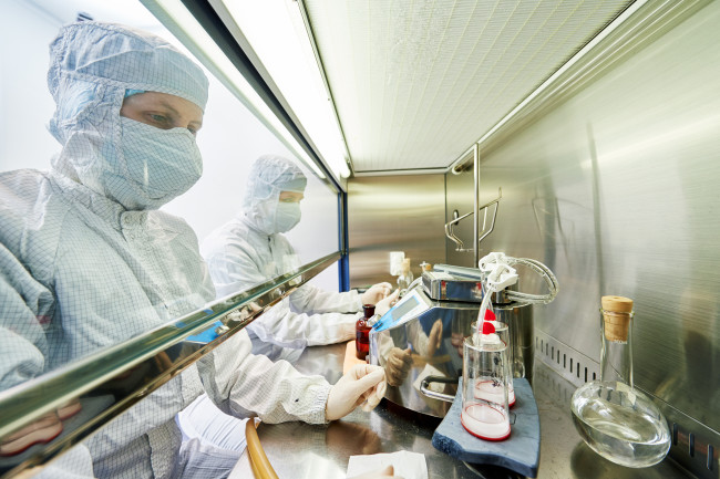 pandemic - lab worker - scientist - shutterstock