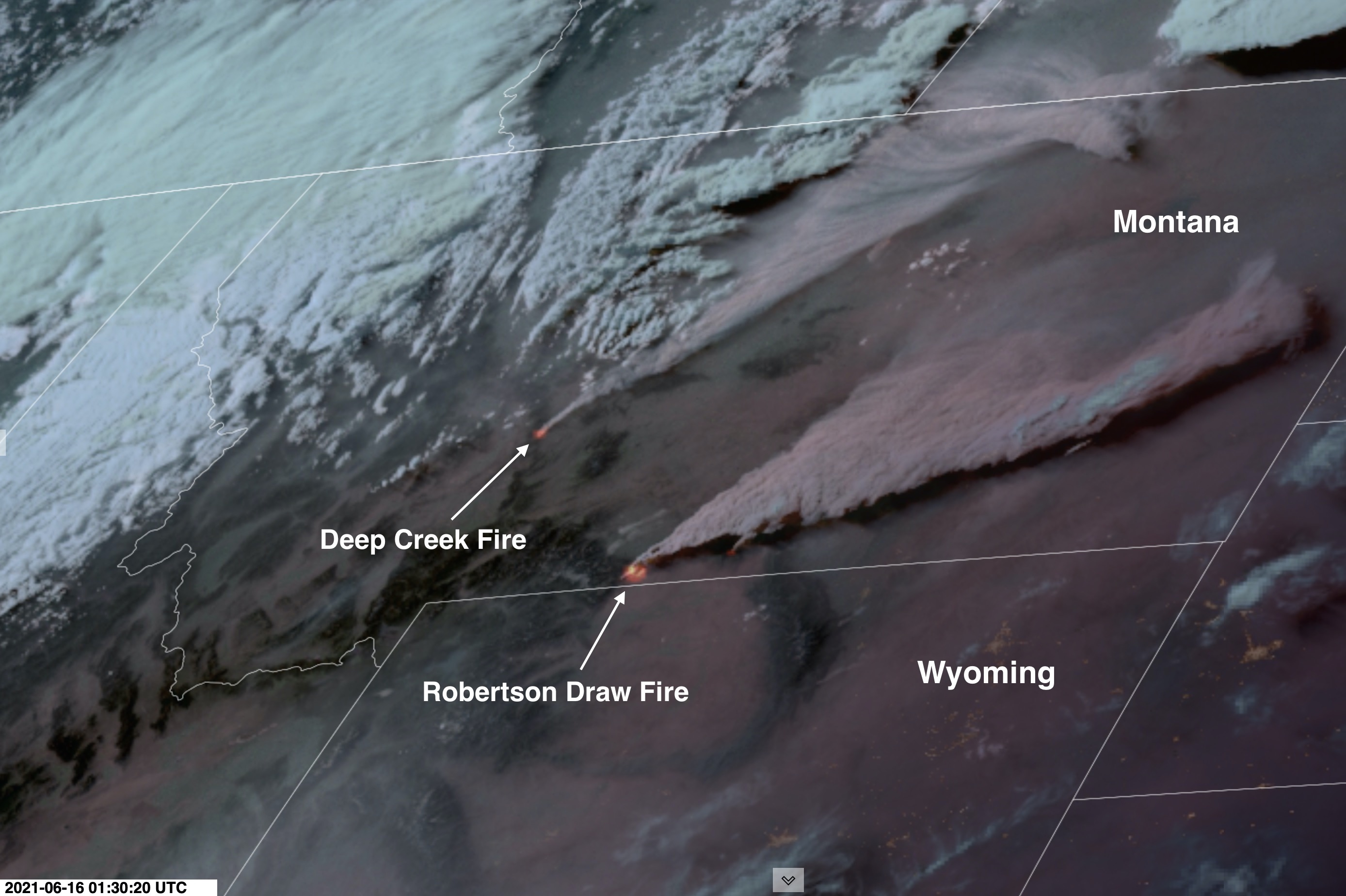 As The West's 'Mega-Heat Wave' Peaks, Satellite Imagery Reveals Explosive Growth of Wildfires