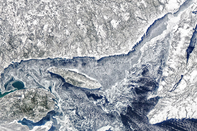 Ice in the Gulf of St. Lawrence