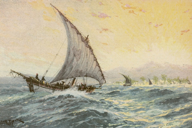 Sailing 19th Century - Mary Evans Picture Library DSC-OS0916 01