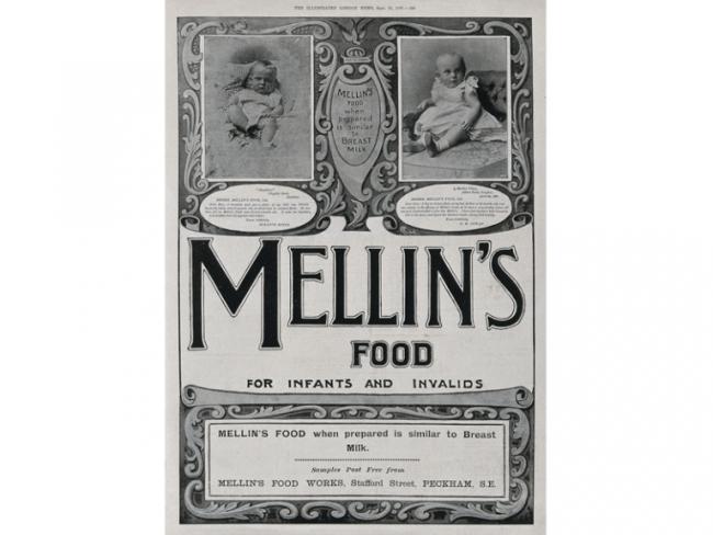 1800s Baby Food