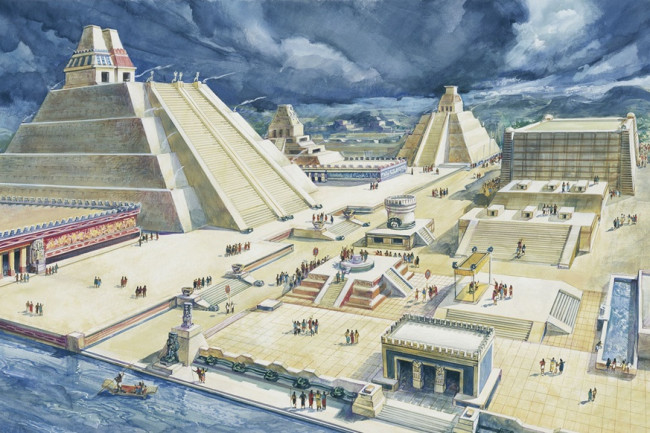 The Great Aztec Temple