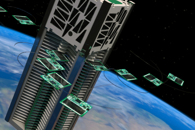 The Tiny Satellites That Might Fly to Another Solar System