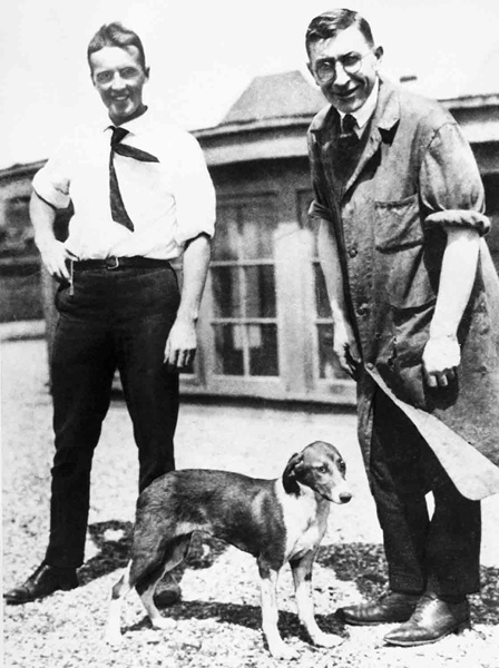 Charles Best and Fred Banting