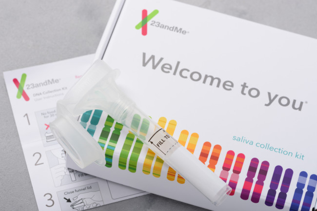 23andme genetic test ancestry and health - shutterstock