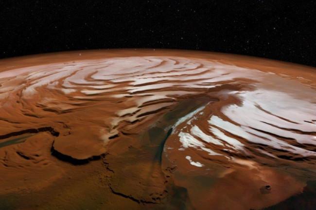 Mars Ice - NASA