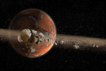 Ancient Mars May Have Had Rings, Then Moons, Then Rings ...