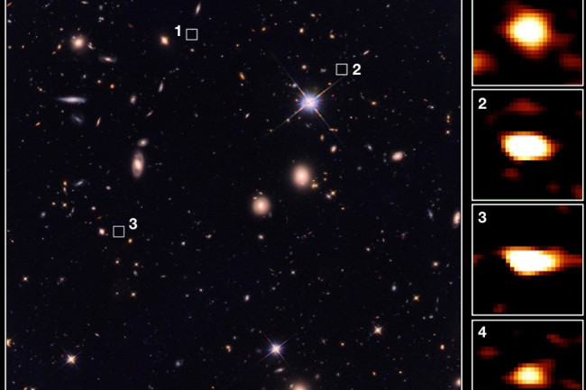 Galaxies Hubble ALMA - Wang et al. 2019