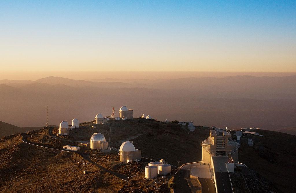 La Silla Observatory Telescope Ring