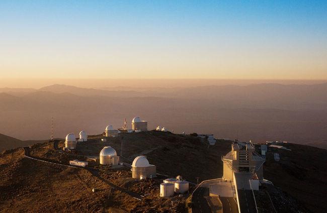 La Silla Observatory Telescope Ring - ESO