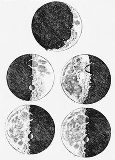 Galileo moon sketches