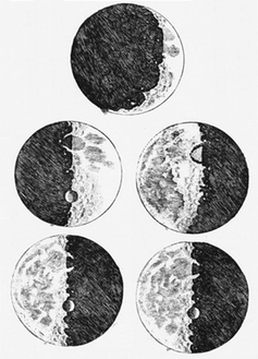 Galileo moon sketches
