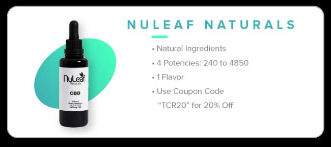 Nuleaf Naturals cbd