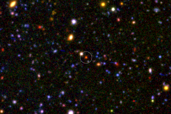 This Massive Galaxy was Done Forming Stars at Just 1.5 Billion Years Old