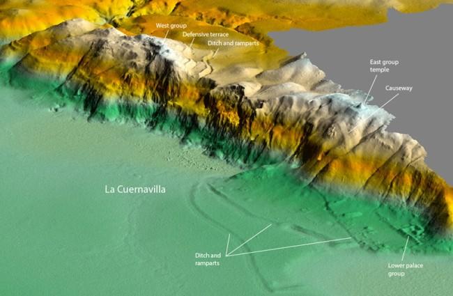 La Cuernavilla Map - Garrison/PACUNAM