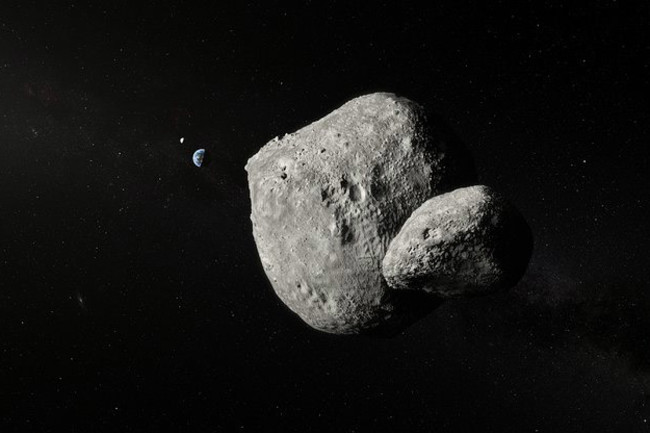 Asteroid 1999 KW4 - ESO