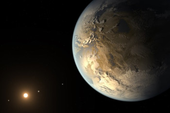 What Would Earth Look Like to Alien Astronomers?