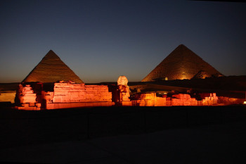 Are the Egyptian Pyramids Aligned with the Stars?
