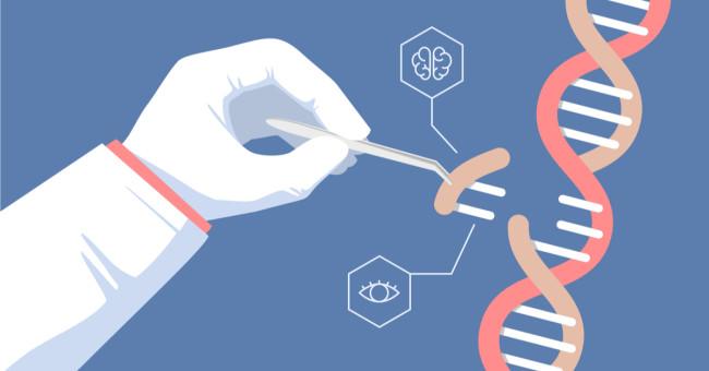 Crispr Gene Editing Concept Illustration - Shutterstock