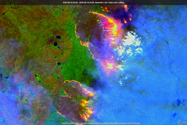Siberian Wildfire