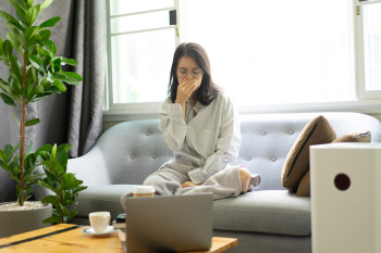 Spending Lots of Time Indoors? Here's How to Improve Air Quality in Your Home