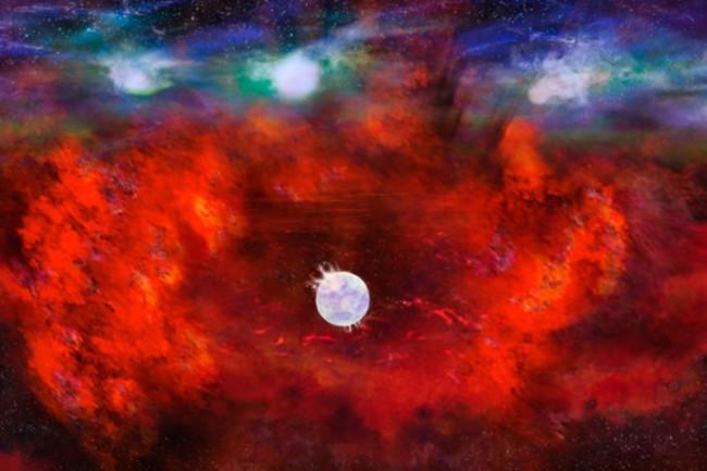 SN1987Aneutronstar