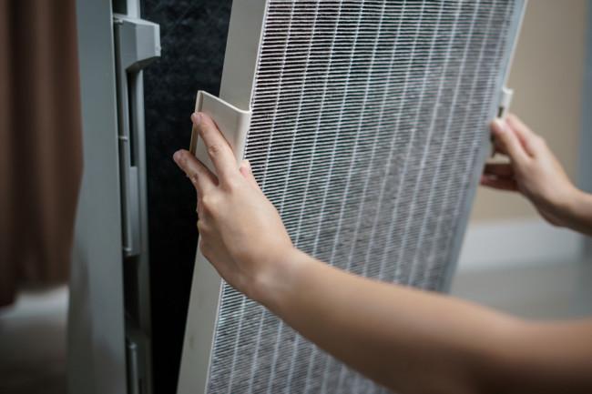 Air Filter Installation - Shutterstock