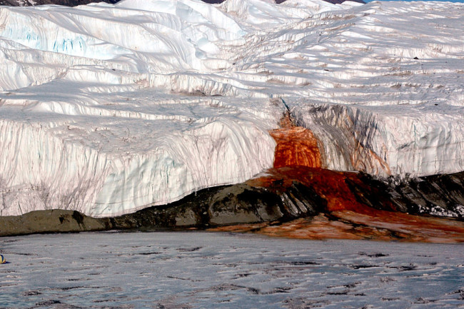 Blood Falls, Antarctica - Wikimedia Commons