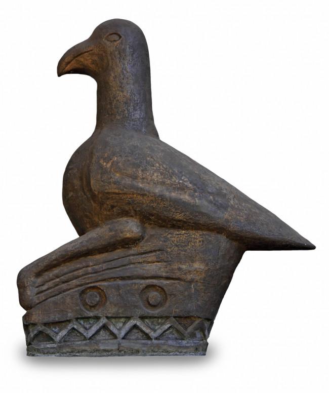 Zimbabwe Bird statue - shutterstock