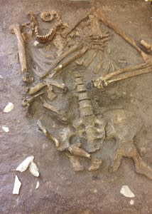 Neanderthal, Kebera Cave, Israel, 60,000 yrs - Bridget Alex