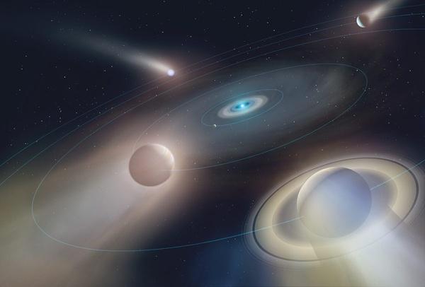destino final del sistema solar