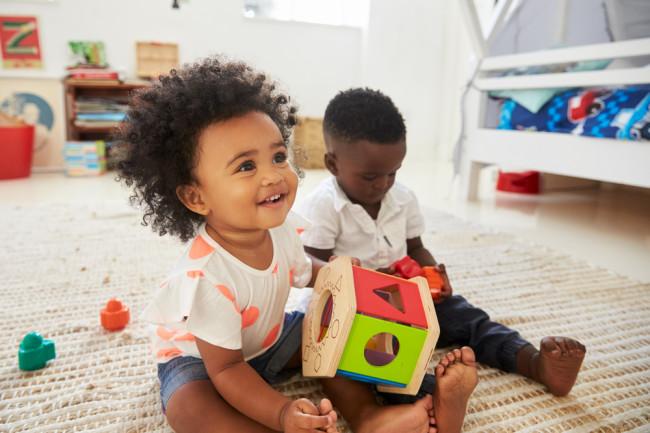 children educational toys learning - shutterstock