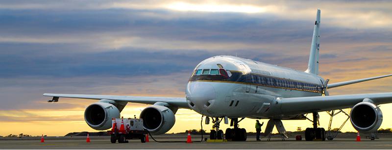 DC-8 IceBridge - Harbeck