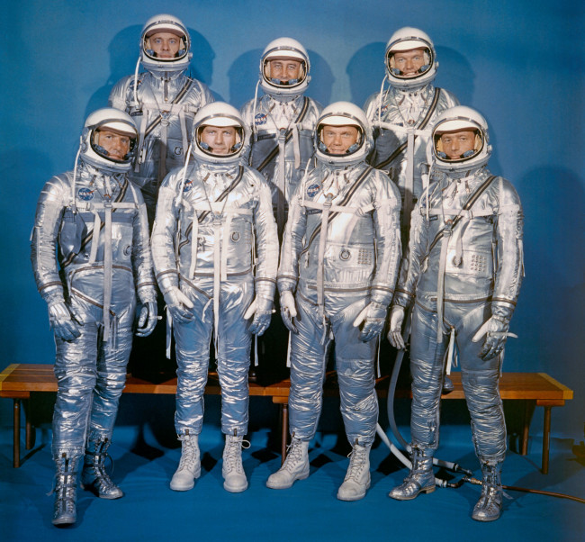 1960 Mercury 7 astronauts - NASA