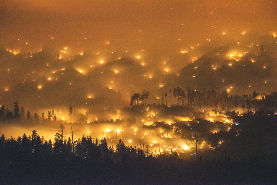 2014 El Portal wildfire Yosemite - Palley/EPA/Corbis