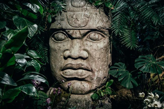 Olmec head - Shutterstock
