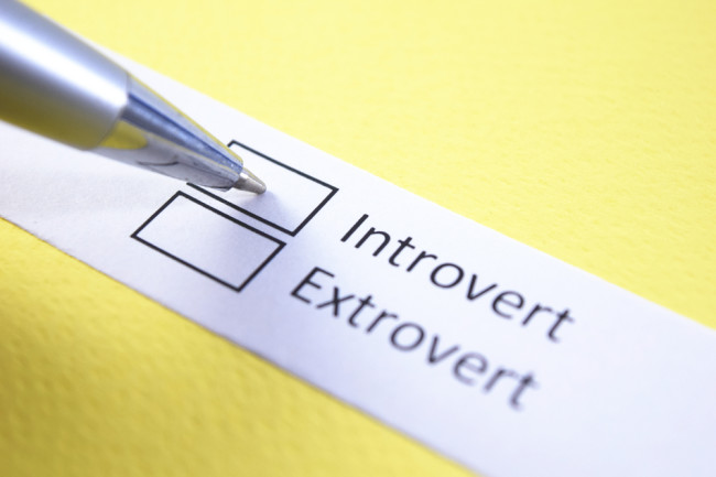 Introvert or Extrovert Personality - Shutterstock