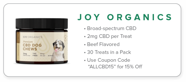 joy organics dog chews