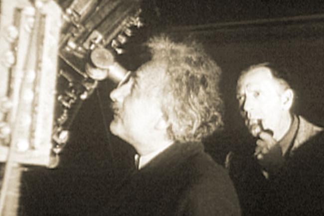 Einstein & Hubble - CalTech archives