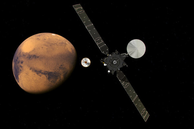 ExoMars 2016 approaching Mars node full image 2