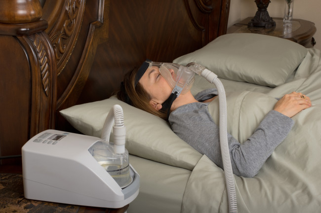 CPAP machine, sleep apnea - Shutterstock
