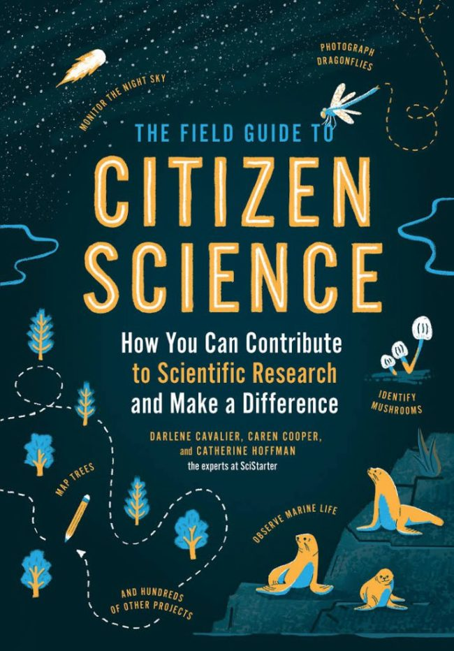 The Field Guide to Citizen Science - book cover