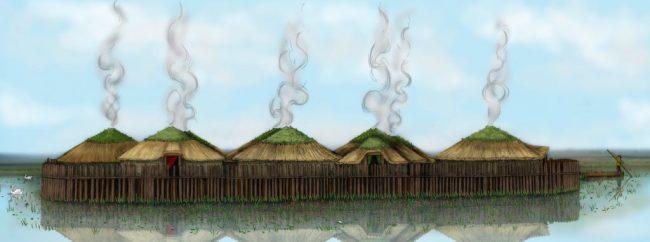 Must Farm Illustration - Cambridge