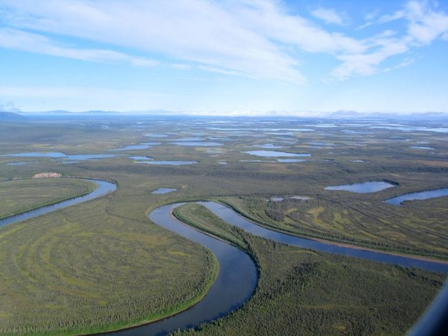 Old Crow River, Yukon Territory - University of Alberta