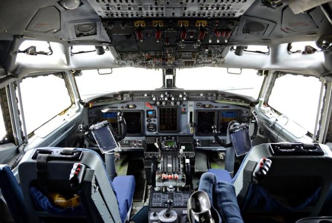plane cockpit buttons