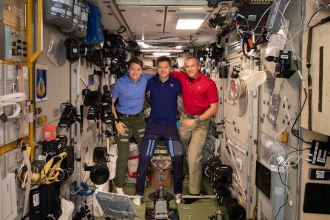 ISS Astronauts - NASA
